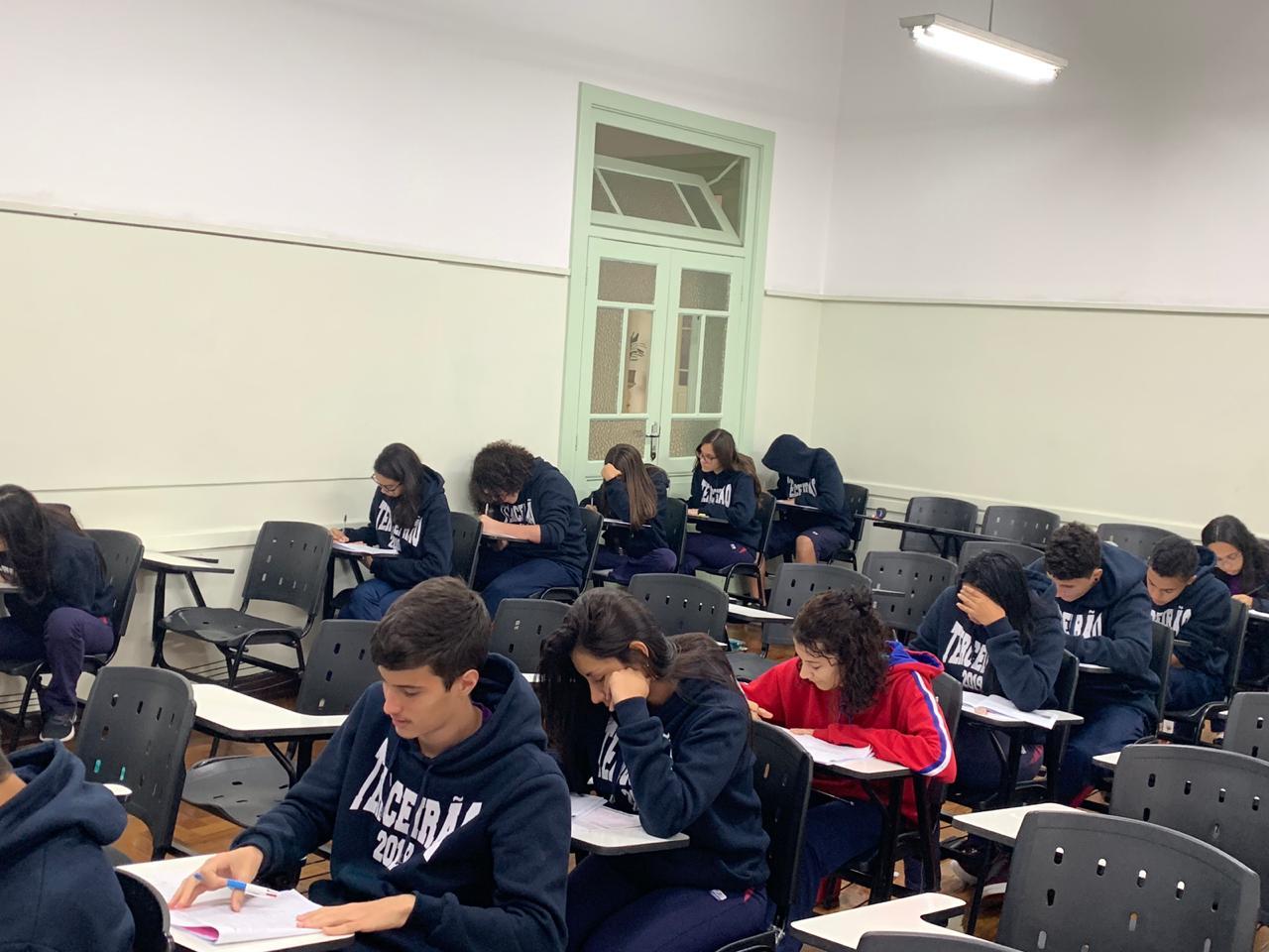 Alunos da 3ª série do Ensino Médio participam da 6ª edição do Enem Salesiano